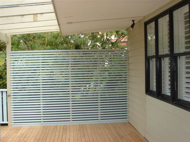 treated pine outdoor privacy screen, by A Grade Carpentry Group